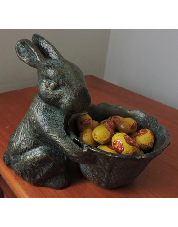 Conejo con pocillo