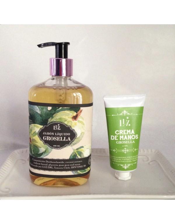 Jabón líquido Grosella