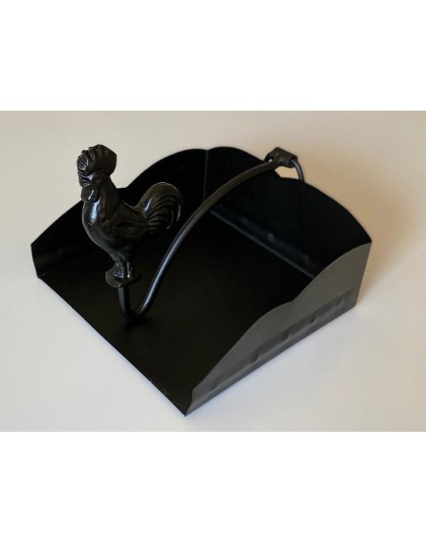 Servilletero mesa pajarito negro