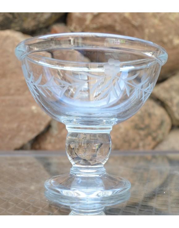 Copa postre tallada imperial